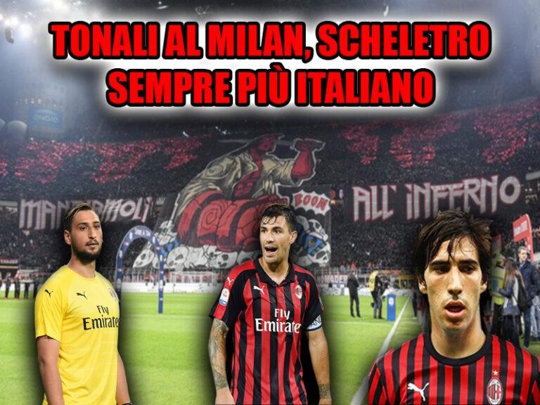 Milan con Tonali