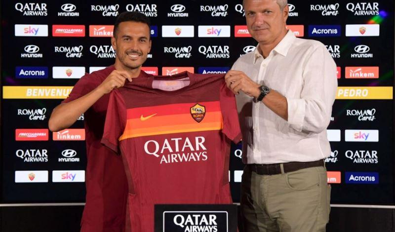 Pedro (foto sito Roma)