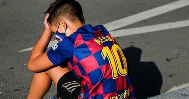 bambino maglia Messi