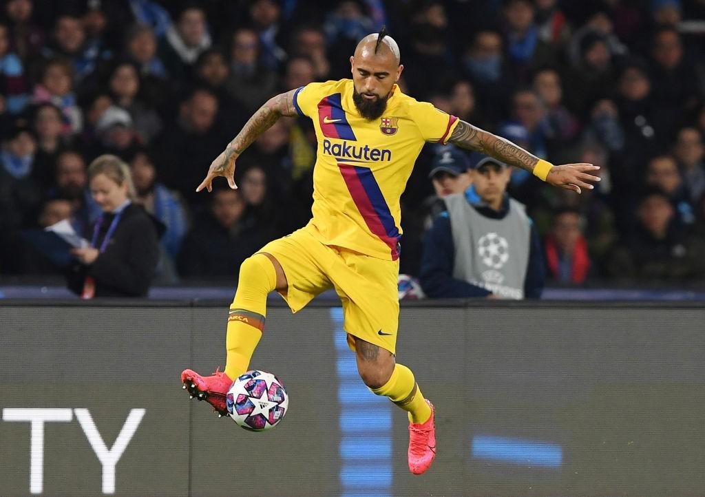 Vidal (Photo by Francesco Pecoraro/Getty Images)