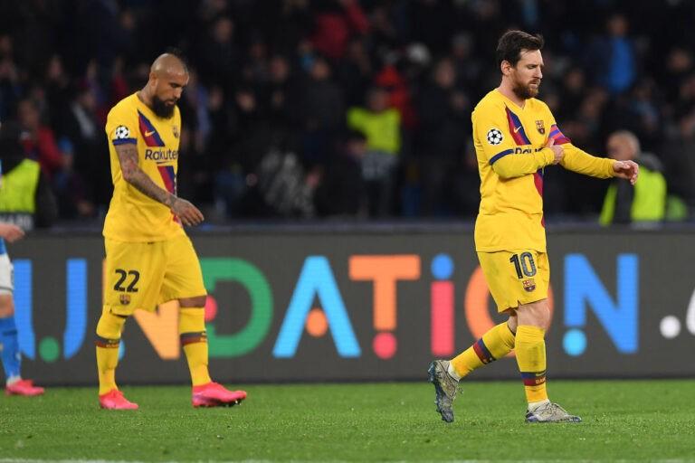Vidal e Messi