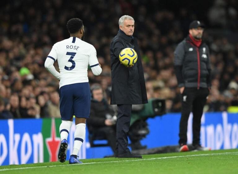 Mourinho e Danny Rose