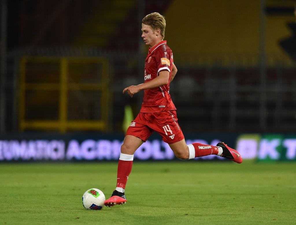 Nicolussi Caviglia (Photo by Giuseppe Bellini/Getty Images for Lega Serie B)