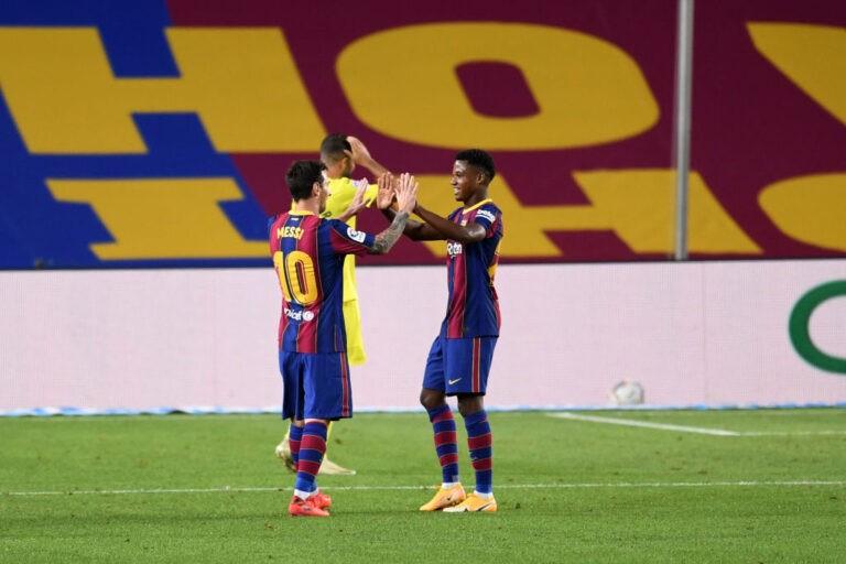 FC Barcelona v Villarreal