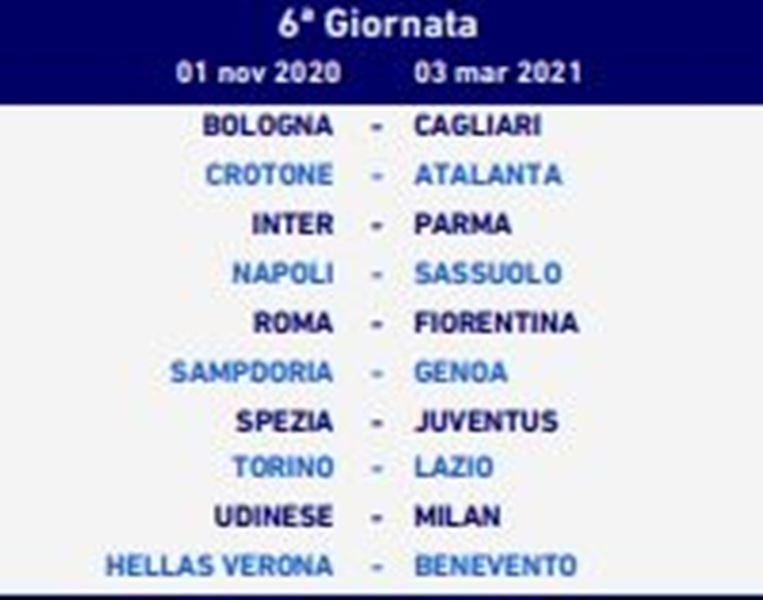 GIORNATA 6