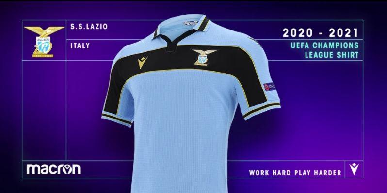maglia lazio champions 2020-2021