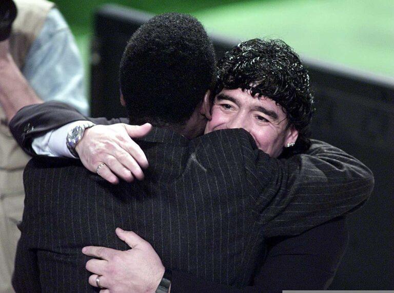 Pele Maradona