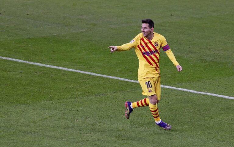 Messi (Foto di Luis Tejido / Ansa)