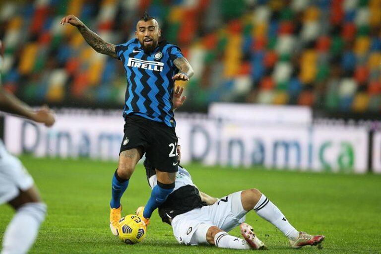 Vidal (Foto di Gabriele Menis / Ansa)