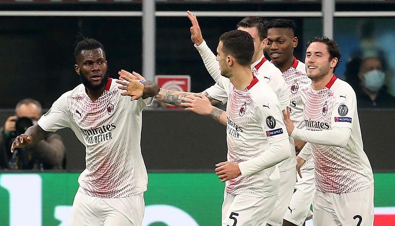 Europa League, il Milan si qualifica con il brivido. La Roma controlla e stacca il pass per gli ottavi