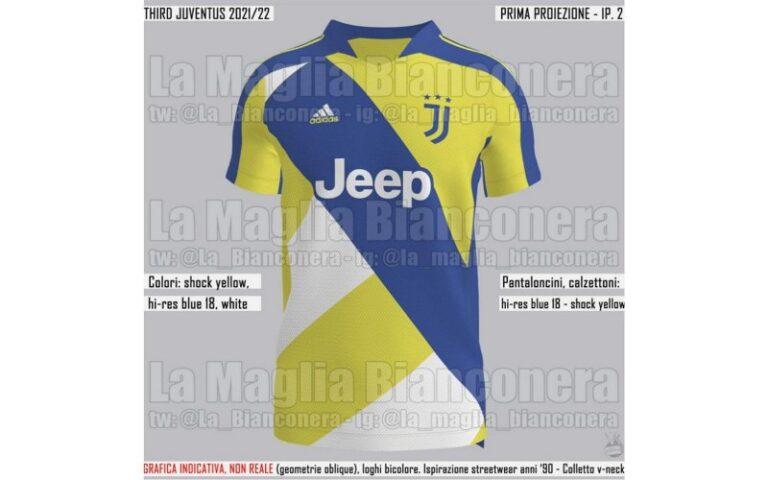 La nuova maglia della Juventus: le indiscrezioni su prima, seconda ...