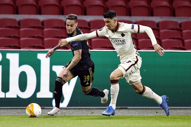 Ajax-Roma 1-2 |  le pagelle di CalcioWeb |  apoteosi dei giallorossi |  la qualificazione è vicina