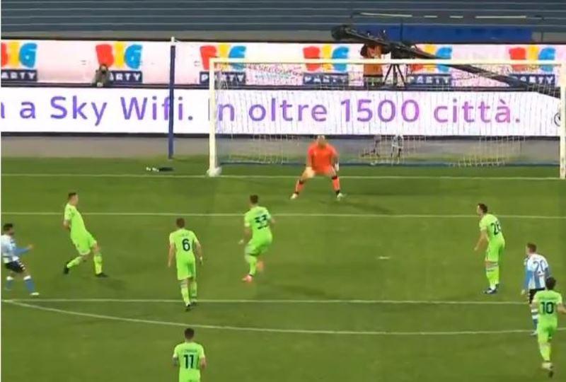 Il gol di Insigne: capolavoro in Napoli Lazio, la squadra di Gattuso da impazzire [VIDEO]