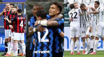 Milan Inter Juve