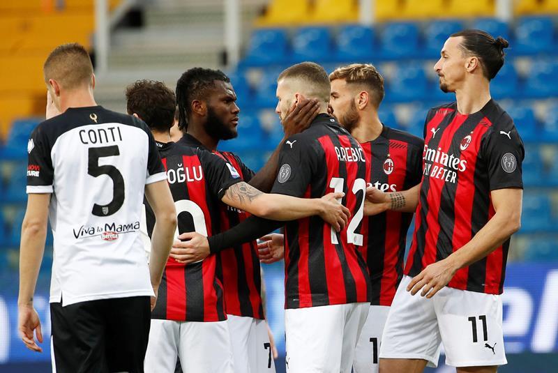 Parma Milan 1 3, le pagelle di CalcioWeb: la squadra di Pioli si conferma al secondo posto, espulso Ibrahimovic
