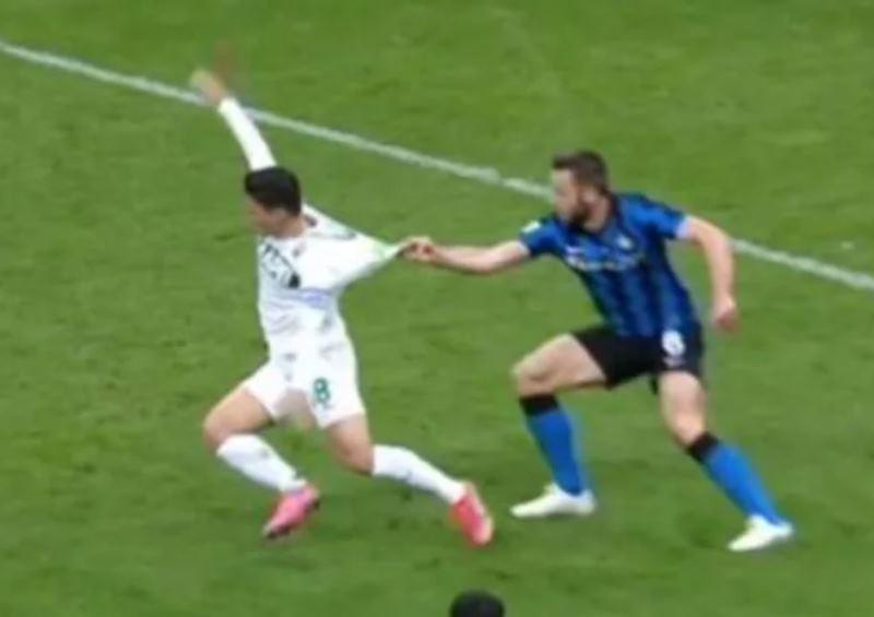 rigore Inter-Sassuolo