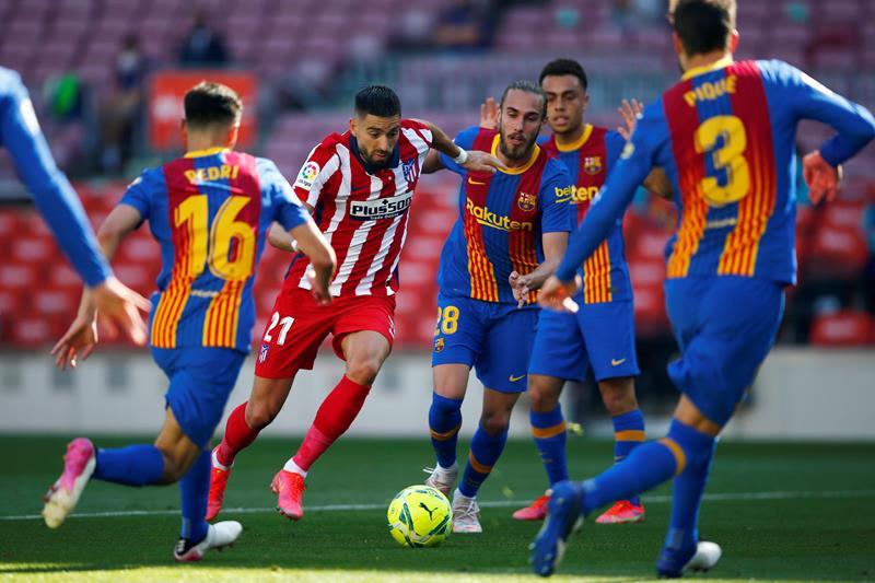 Barcellona Atletico Madrid 0 0, pareggio che lascia tutto aperto per il titolo. Può sorridere il Real Madrid [FOTO]