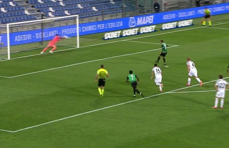 Super Buffon, para il rigore a Berardi nel match Sassuolo Juventus [VIDEO]