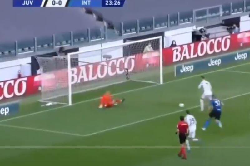 Il gol di Cristiano Ronaldo: para Handanovic, poi il portoghese non sbaglia [VIDEO]