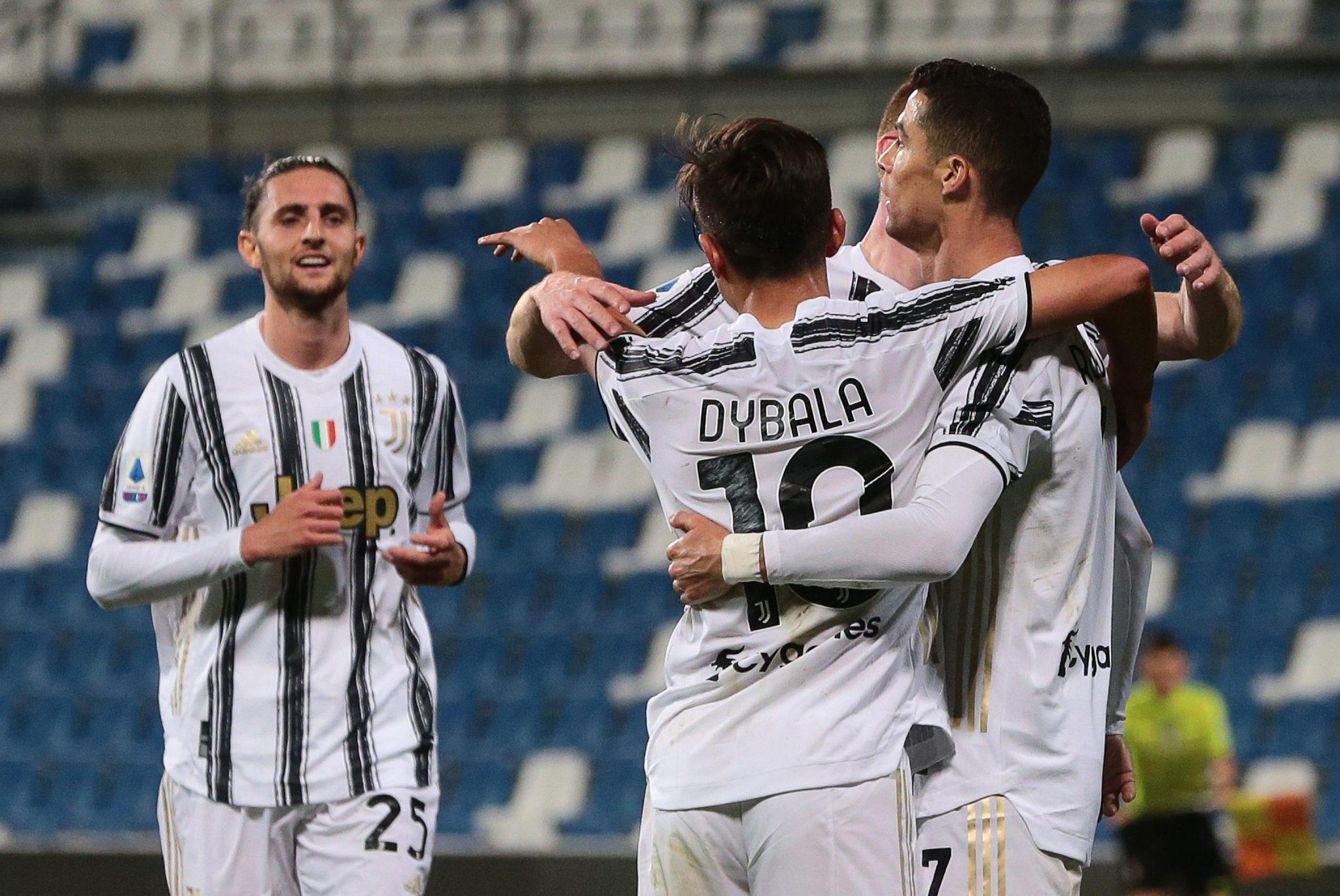 Sassuolo Juventus 1 3, le pagelle: ossigeno per i bianconeri, colpo in trasferta