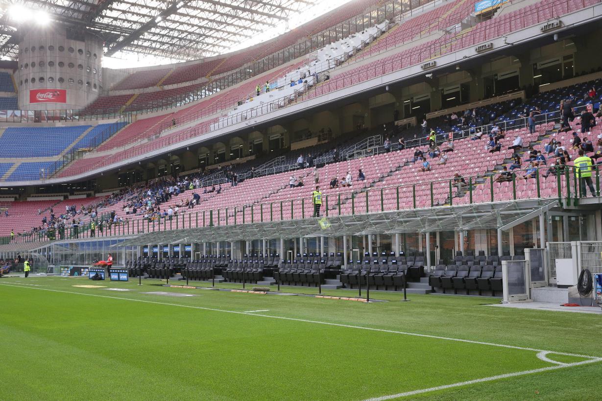 """Il sottosegretario Costa: """"stadi aperti al 50%, ma lavoriamo per ampliarla"""""""