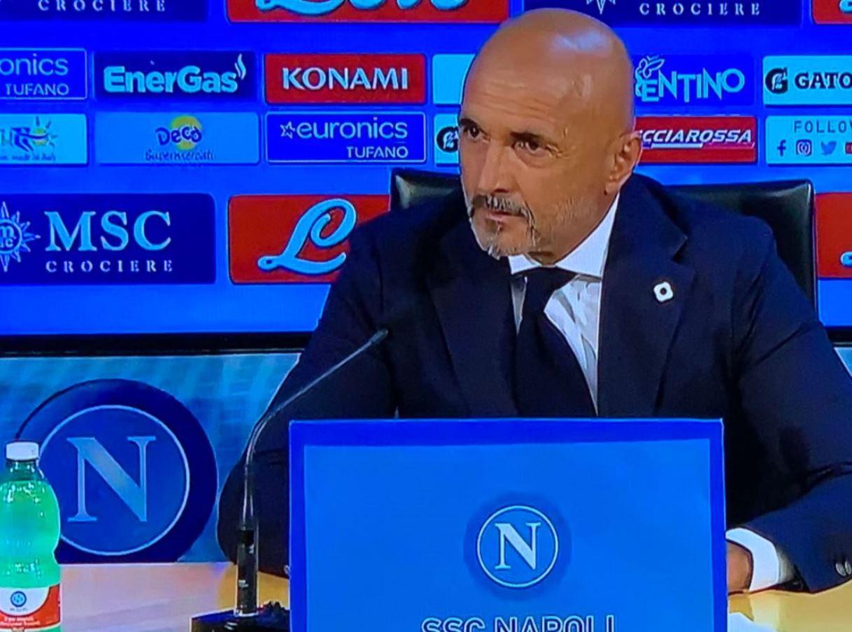 """Napoli, Spalletti mette fine alle polemiche: """"lamentarsi degli arbitri è da sfigati"""""""