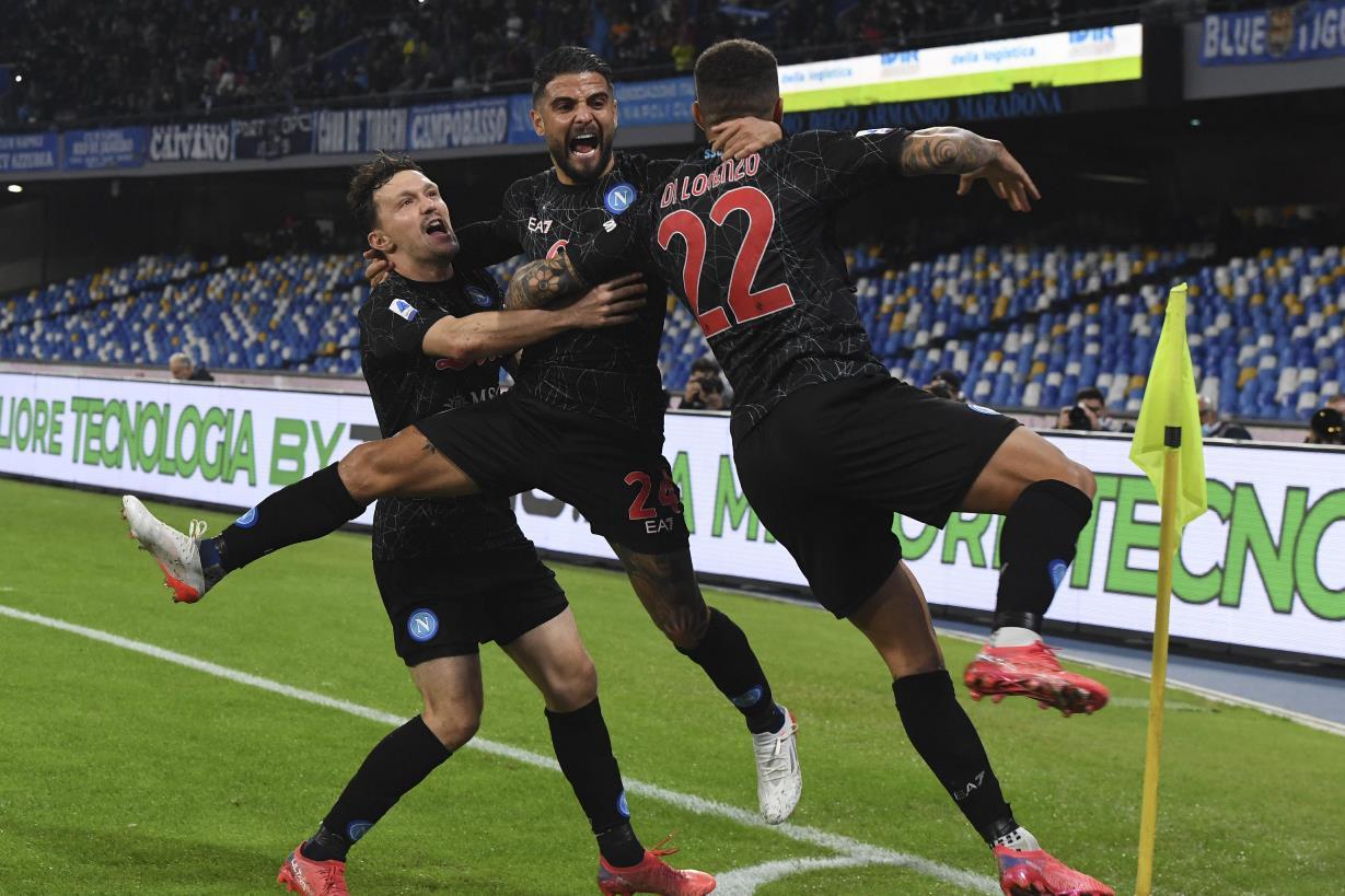 Napoli dominante al Maradona: Bologna ko 3 0, gli azzurri raggiungono il Milan in vetta